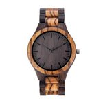 My Daughter You Are Braver Love Mom Black & Yellow Wooden Watch