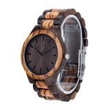 My Son Love Mom Black & Yellow Wooden Watch