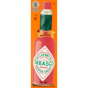 Tabasco Original Red Pepper Hot Sauce 57ml