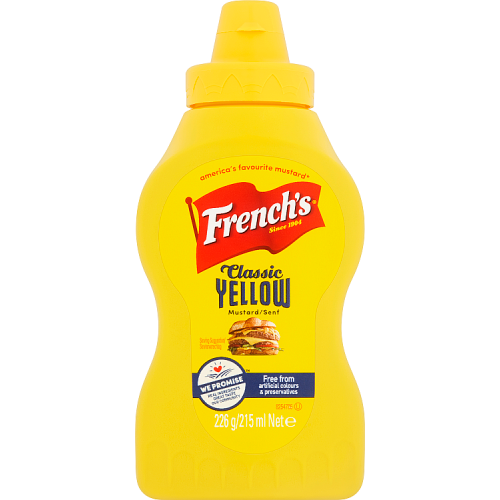 French's American Classic Mustard 226g