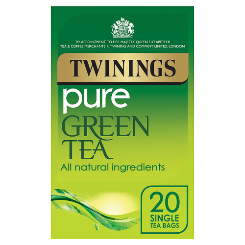 Twinings Pure Green Tea 20 Single Tea Bags 50g