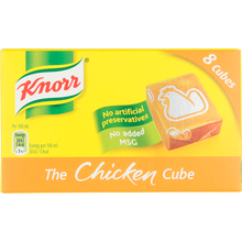 Load image into Gallery viewer, Knorr Chicken Stock cubes 8 x 10g