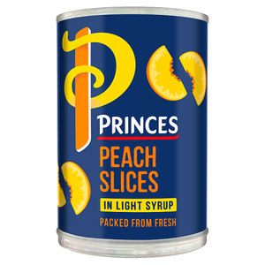 Princes Peach Slices in Light Syrup 410g