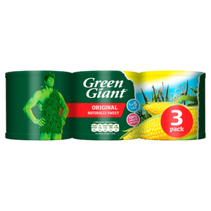 Green Giant Original Sweetcorn 340g 3 pack
