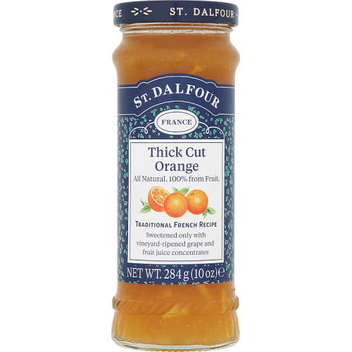 St. Dalfour Thick Cut Orange High Fruit Content Spread 284g