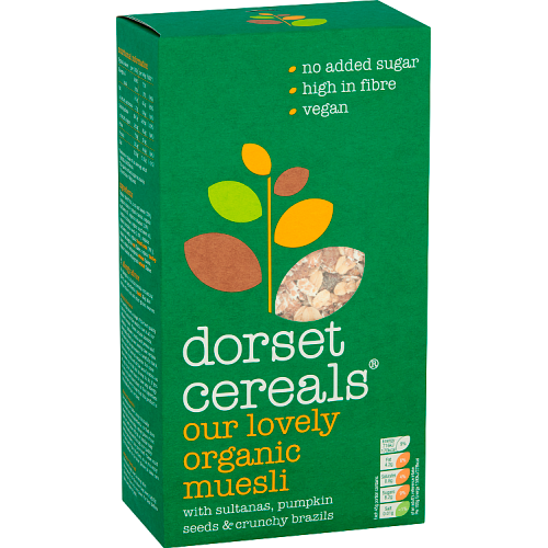 Dorset Cereals Our Lovely Organic Muesli 600g
