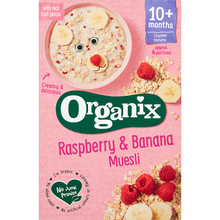 Load image into Gallery viewer, Organix Raspberry & Banana Organic Baby Muesli 200g