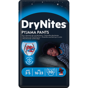 DryNites, Pyjama Pants, Boy, 3-5 Years, 10 Pants
