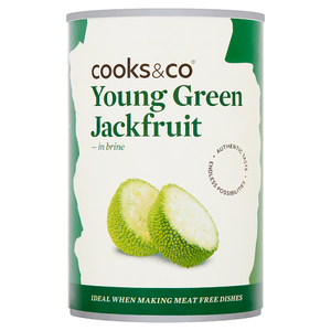 Cooks & Co Young Green Jackfruit in Brine 400g