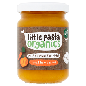 Little Pasta Organics Pasta Sauce for Kids! Pumpkin + Carrot 9+ Months 130g