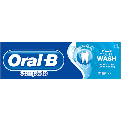 Oral-B Complete Toothpaste+Mouthwash Refreshing Clean 75ml