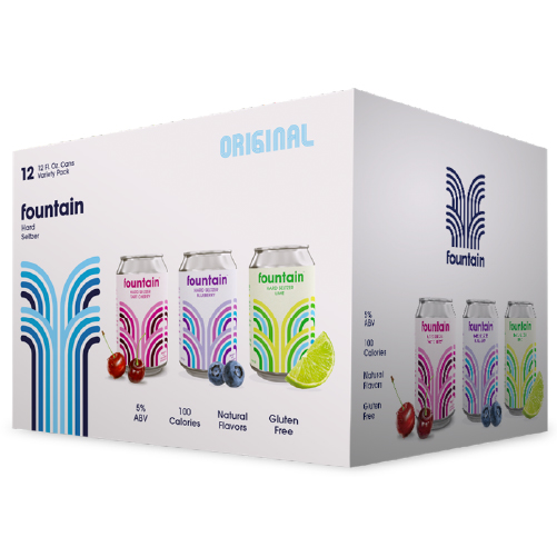 Fountain Original Variety Pack [12 x 355ml]
