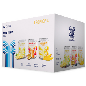 Fountain Tropical Variety Pack [12 x 355ml]