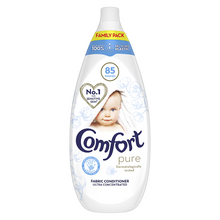 Load image into Gallery viewer, Comfort Pure Fabric Conditioner Liquid 85 Wash 1.275 L