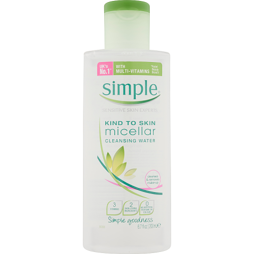 Simple Kind To Skin Cleansing Water Micellar 200ml