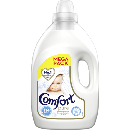 Comfort Pure Fabric Conditioner 114 washes 4 Litre