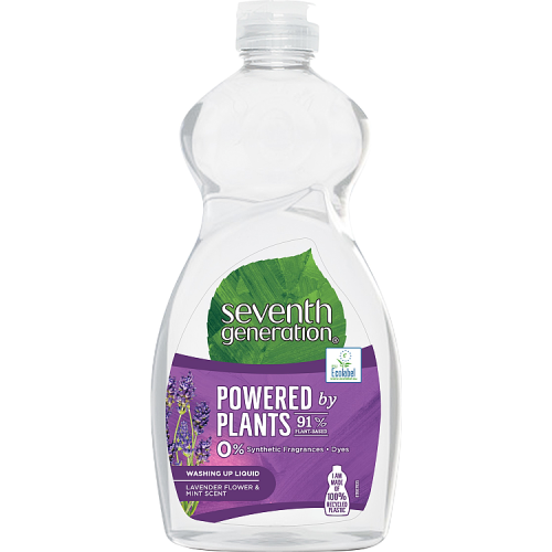 Seventh Generation Lavender Flower & Mint Washing Up Liquid 500ml