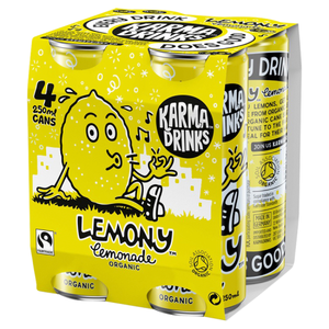 Karma Drinks Fairtrade Organic Lemony Lemonade 300ml