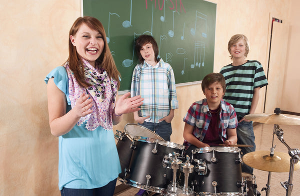 Student in Music Camp