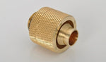 "G1/4"" True Brass Compression Fitting CC3 For ID 3/8"" OD 5/8"" Tube - Sidewinder Computers"