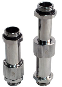 G1/4 Male to Male Lok-Seal SLI Fitting - 41 to 65 MM (Chrome) - Sidewinder Computers
