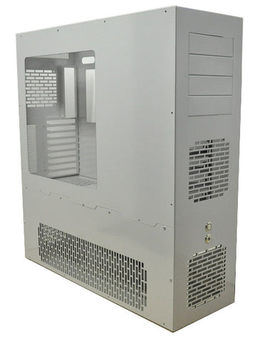LD PC-V8 HPTX Liquid Cooling PC Case ATX / EATX / ATX-XL / HPTX - Silver