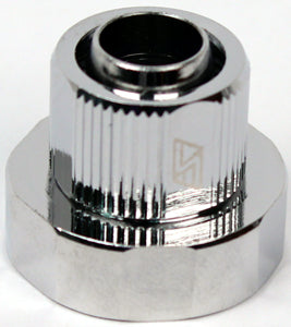 "3/8 x 1/2"" Quick Disconnect Compression Fitting end cap for QC-NS coupling - Sidewinder Computers"