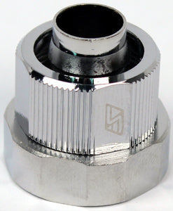 "3/8 x 5/8"" Quick Disconnect Compression Fitting end cap for QC-NS coupling - Sidewinder Computers"