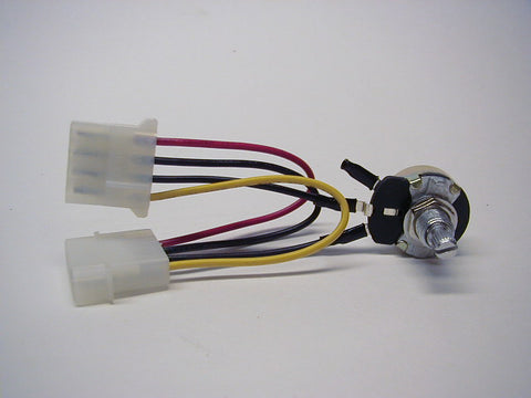 5 Watt Rheostat with Amp/Molex style 4-pin connector - Sidewinder Computers