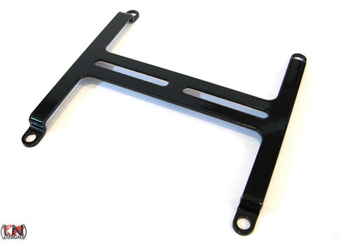 Z2 Bracket Rev 2 for DDC/D5 Pumps and 120mm Fans (Black)