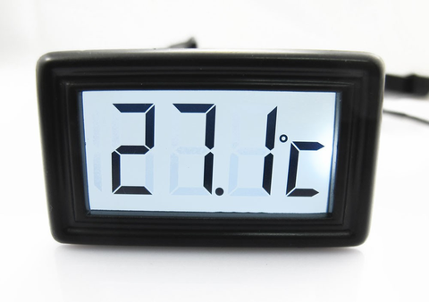 LCD Temperature Sensor V2 (White) - Sidewinder Computers