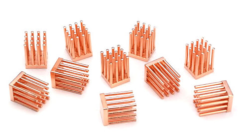 MOS-C10 Forged Copper MOSFET Heatsinks - Sidewinder Computers