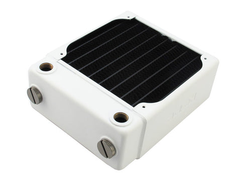 RX120 Single Fan Radiator V3 (White) - Sidewinder Computers