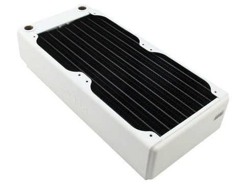 RX240 Dual Fan Radiator V3 (White) - Sidewinder Computers