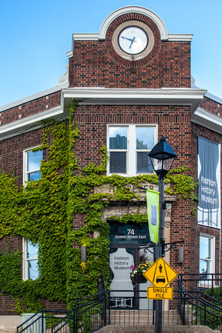 Photo of Hespeler old post office, now fashion history museum by Laura Cook of Vision Photography