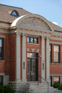 Old Preston Public Library Photo by Cambridge Ontario Photographer Laura Cook of Vision Photography