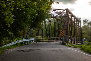 photography of historic black bridge in hespeler cambridge by Laura Cook of Vision Photography