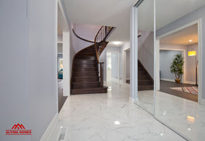 Whole Home Renovation Main Entrance - Altima Homes Inc.