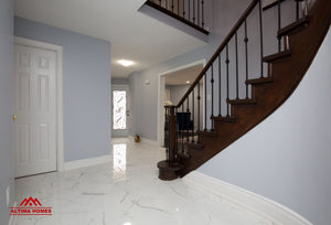 Whole Home Renovation Main Staircase - Altima Homes Inc.