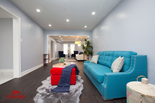 Whole Home Renovation Family Room - Altima Homes Inc.