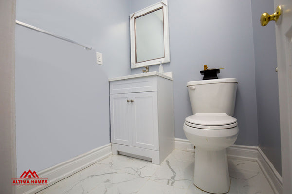 Whole Home Renovation Guest Bathroom - Altima Homes Inc.