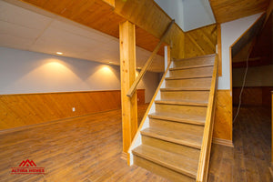 Whole Home Renovation Basement - Altima Homes Inc.
