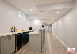 Full Basement Remodeling - Altima Homes Inc.