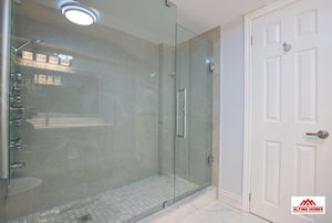 White & Grey Luxurious Bath - Altima Homes Inc.