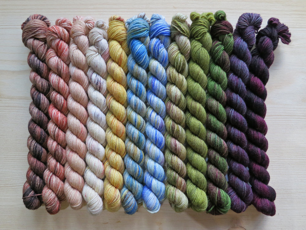 2019 Halfvent Yarn Kit - Dyers Selection