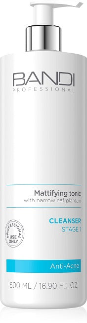 MATTIFYING TONIC WITH NARROWLEAF PLANTAIN