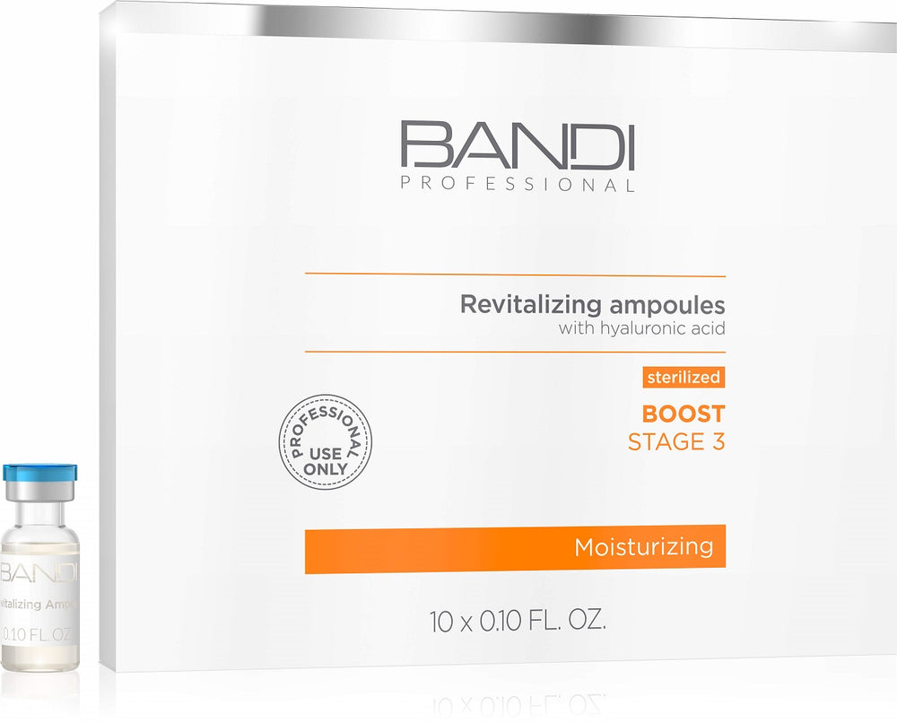 REVITALIZING AND REJUVENATING AMPOULES STERILIZED