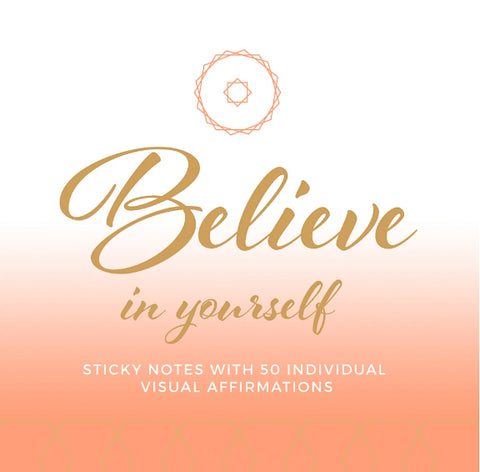 Believe in Yourself Affirmation Sticky Notes