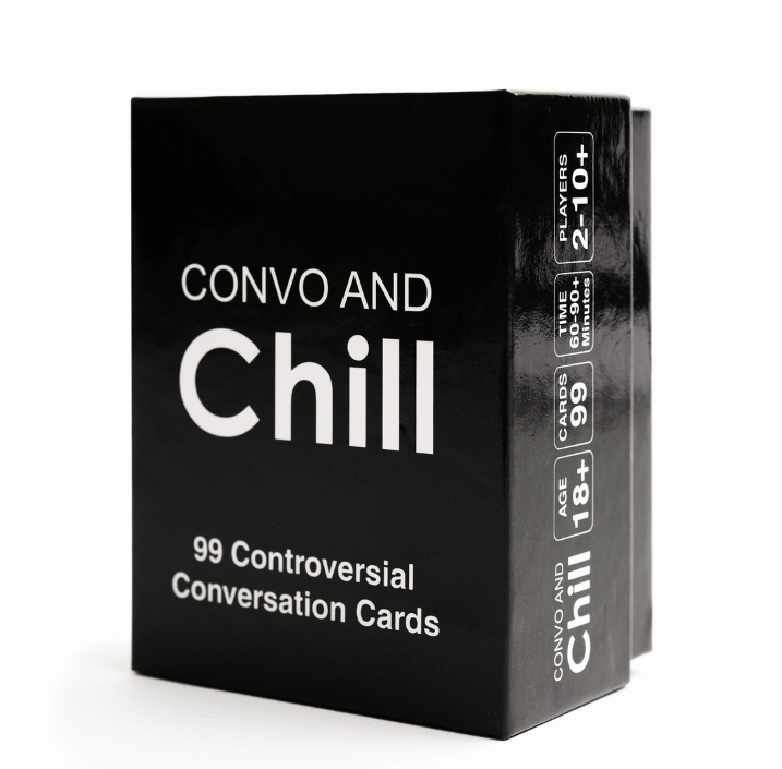 Convo and Chill card game
