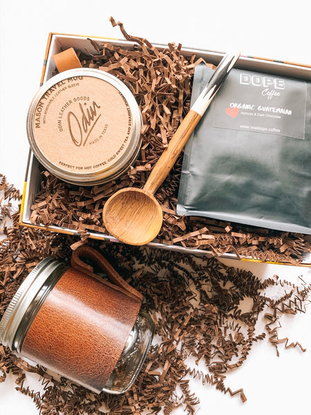 Mason Jar Coffee Box Set